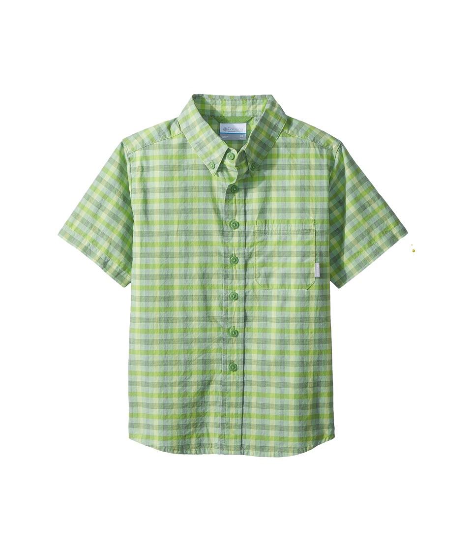 Columbia Kids - Rapid Rivers Short Sleeve Shirt (Little Kids/Big Kids) (Spring Small Plaid) Boys Short Sleeve Button Up
