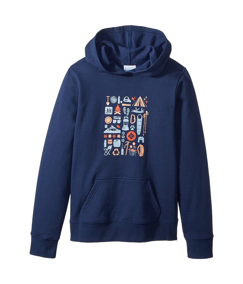 Columbia Kids - CSC Hoodie (Little Kids/Big Kids) (Collegiate Navy) Boys Sweatshirt