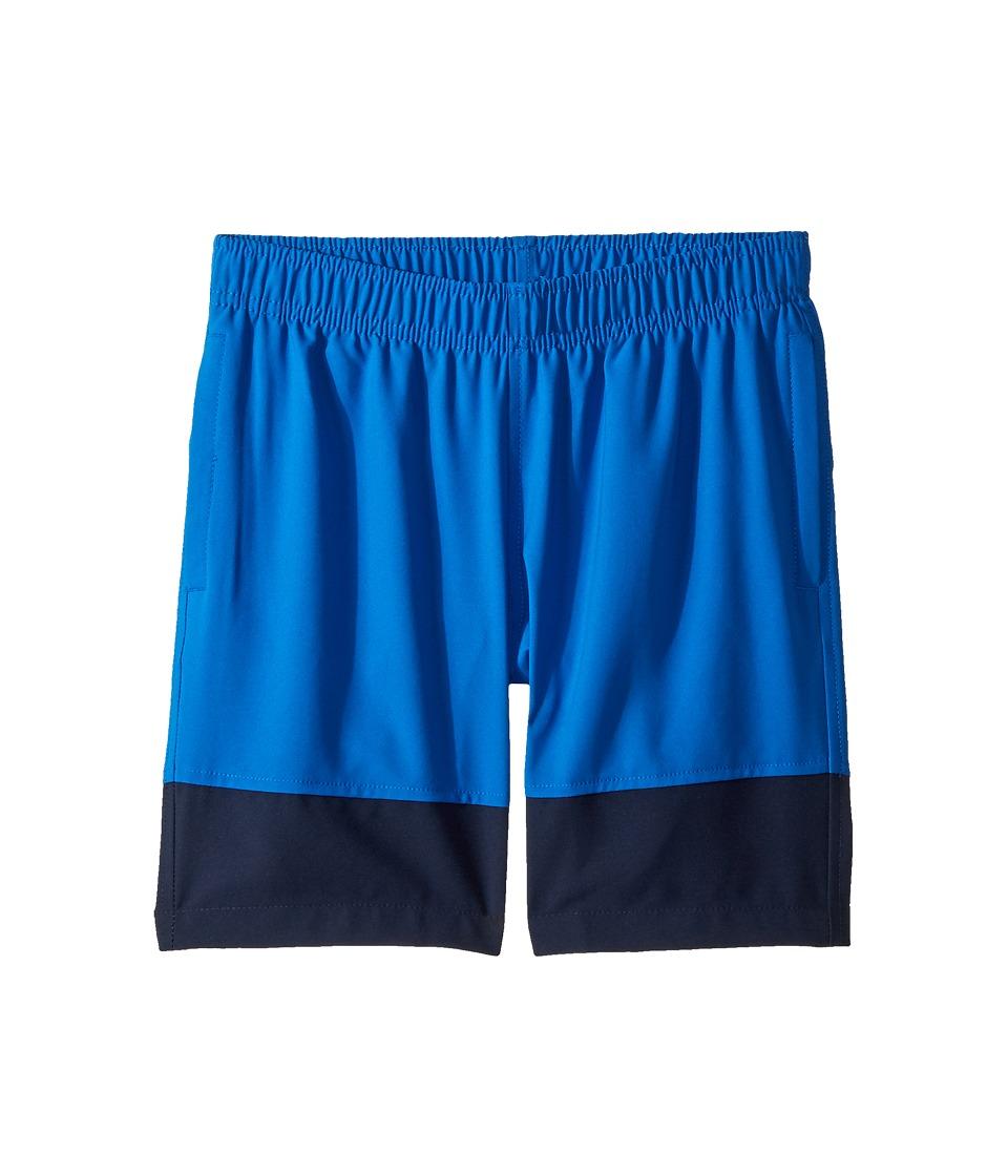 Columbia Kids - Solar Stream Stretch Shorts (Little Kids/Big Kids) (Super Blue/Collegiate Navy) Boys Shorts