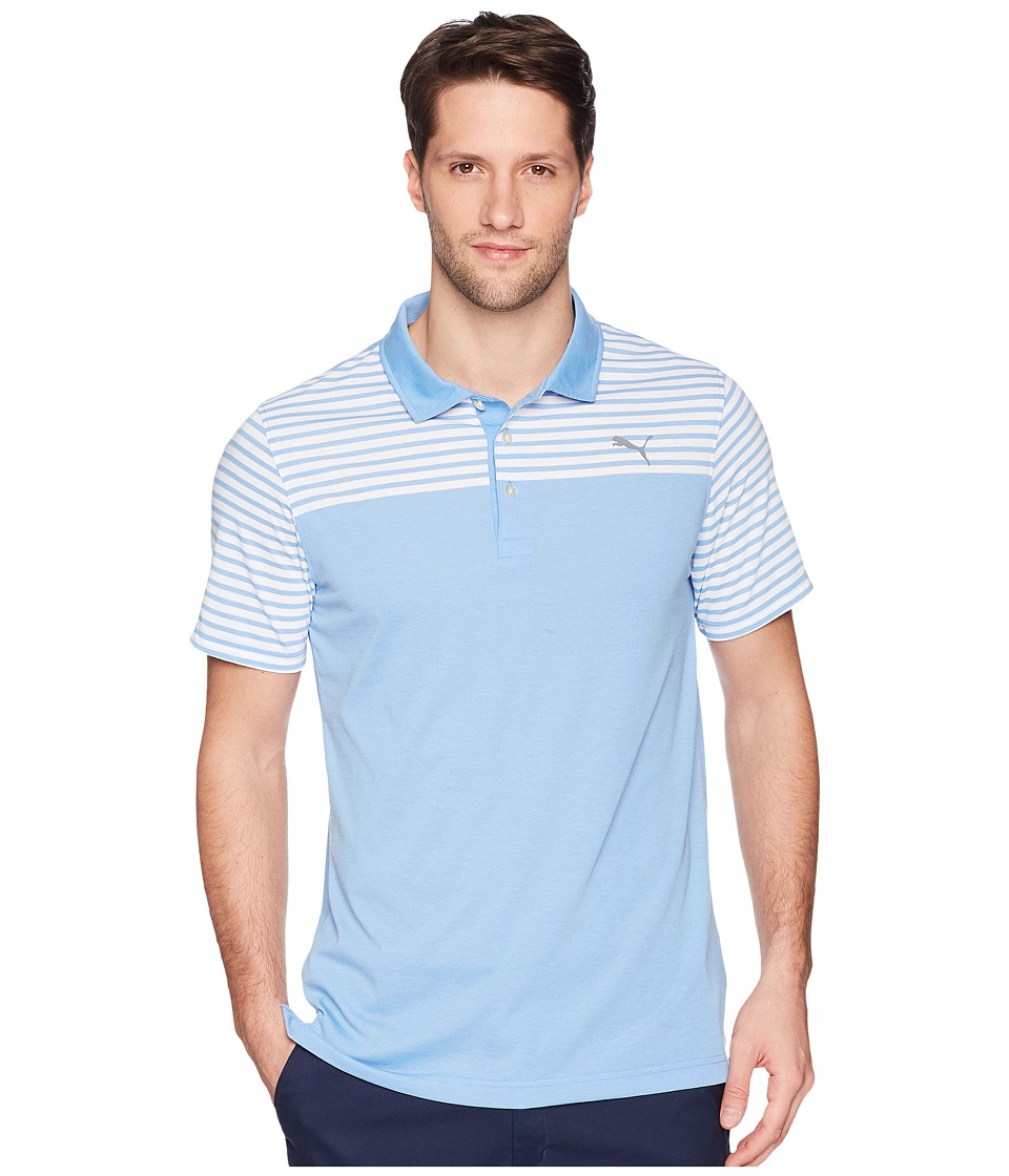 PUMA Golf - Clubhouse Polo (Marina) Mens Short Sleeve Pullover