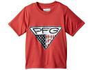 Columbia Kids PFG Triangle Fill Short Sleeve Shirt (Little Kids/Big Kids)