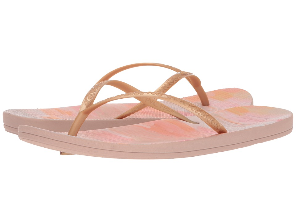 Reef - Escape Lux Paint (Rose Paint) Women's Sandals
