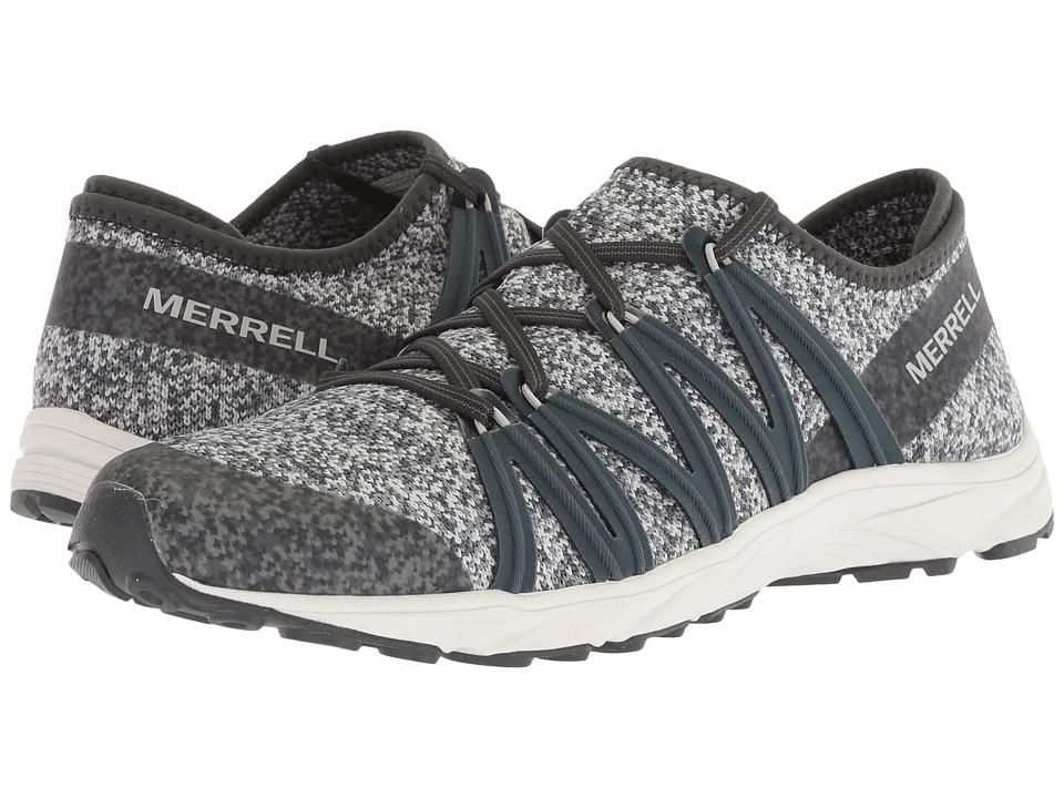 MerrellRiveter Knit  (Slate) Womens Shoes