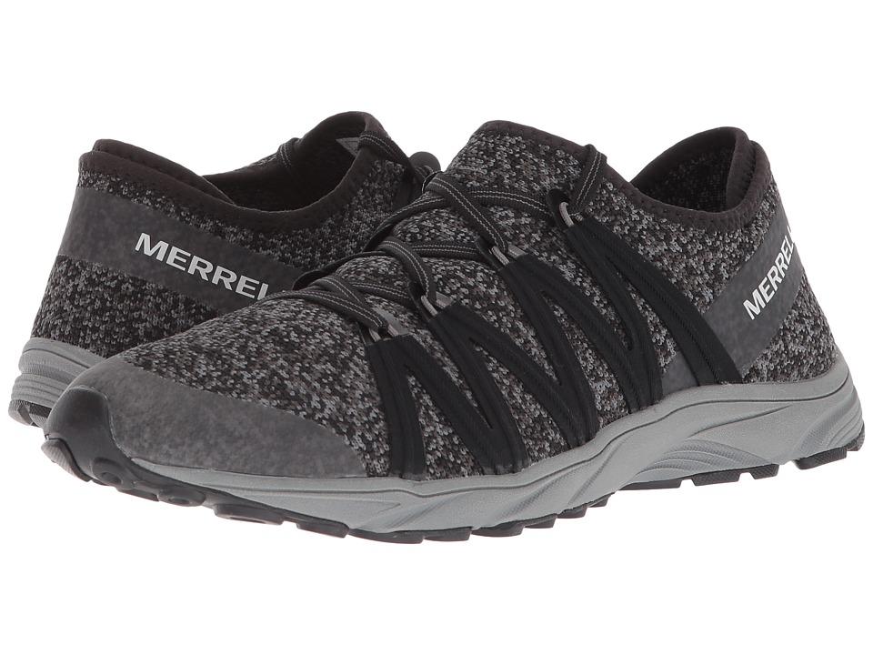 MerrellRiveter Knit  (Black) Womens Shoes