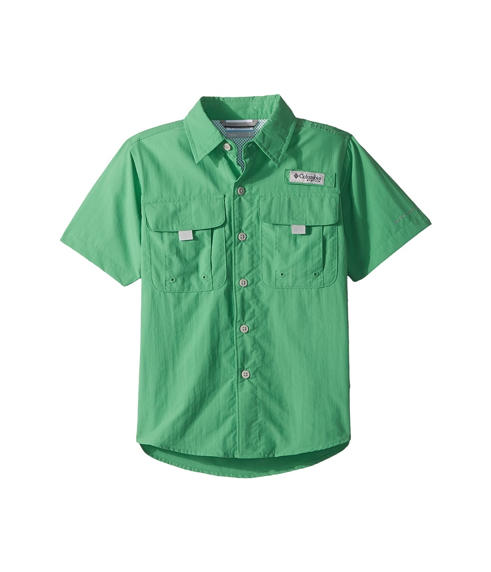 Columbia Kids - Bahama Short Sleeve Shirt (Emerald City) Boys Short Sleeve Button Up