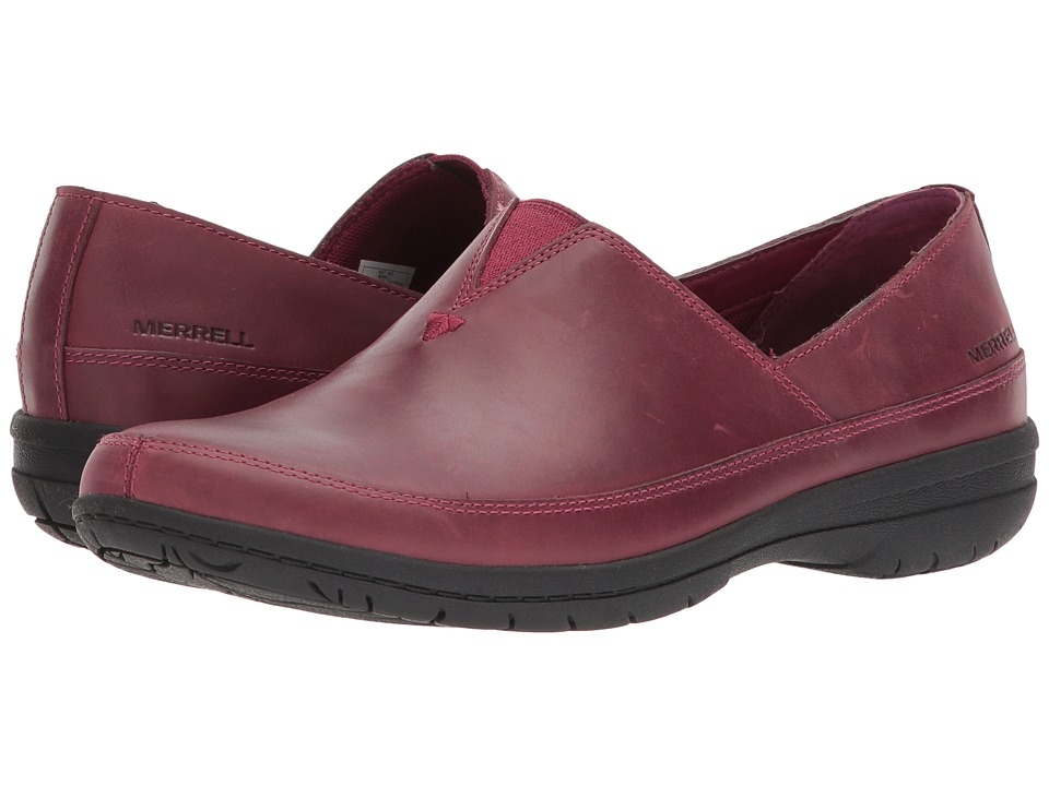 Merrell Encore Kassie Moc (Beet Red) Women's Shoes