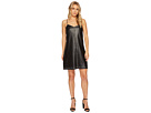 Blank NYC Studded Vegan Leather Slip Dress in Close The Deal