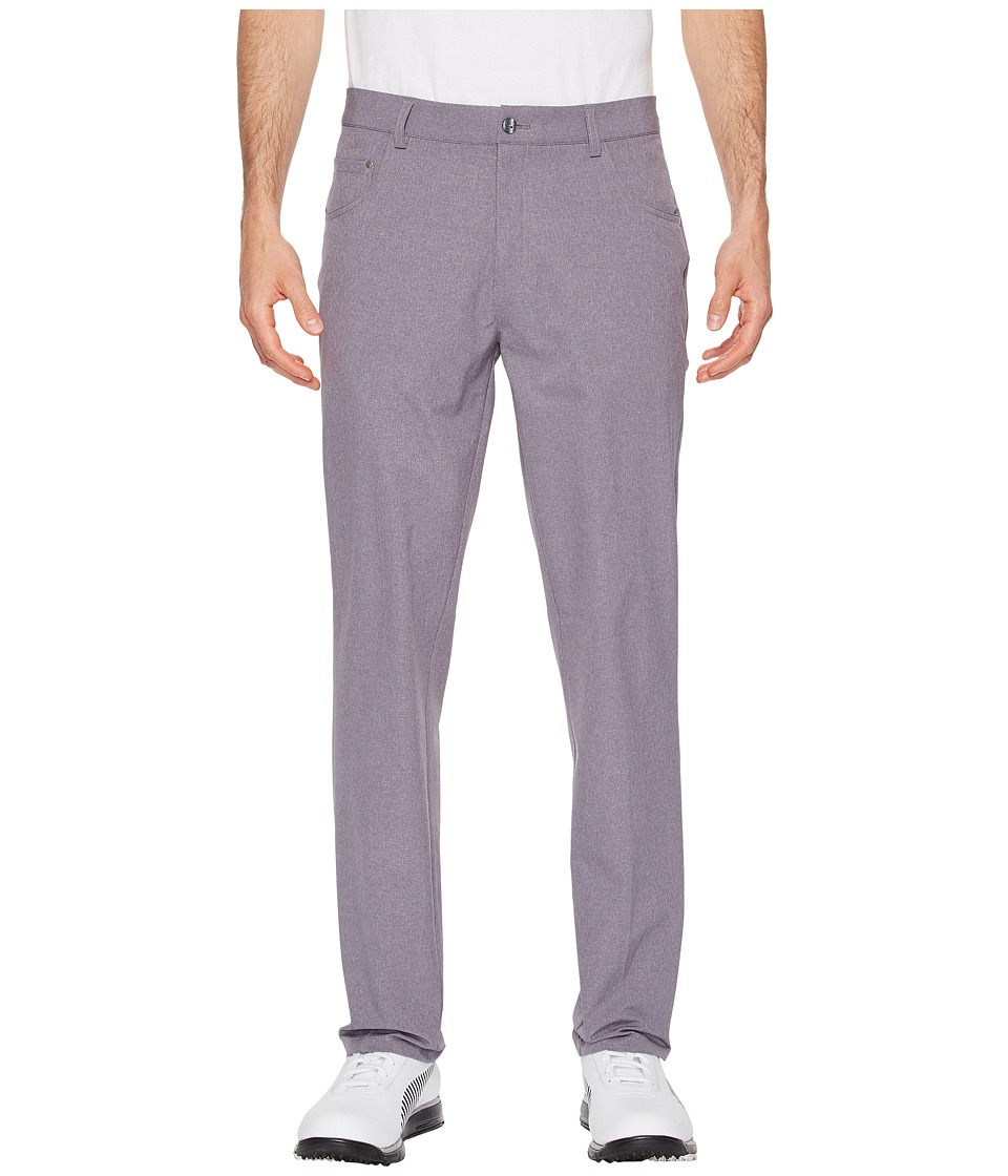 PUMA Golf - Heather Six-Pocket Pants (Quiet Shade) Mens Casual Pants