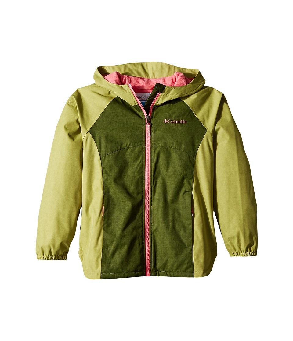 Columbia Kids Endless Explorer Jacket (Little Kids/Big Kids) (Pesto/Pear) Girl