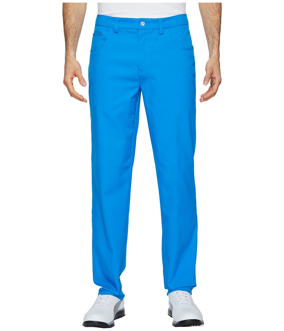 PUMA Golf - Six-Pocket Pants (Electric Blue Lemonade) Mens Casual Pants