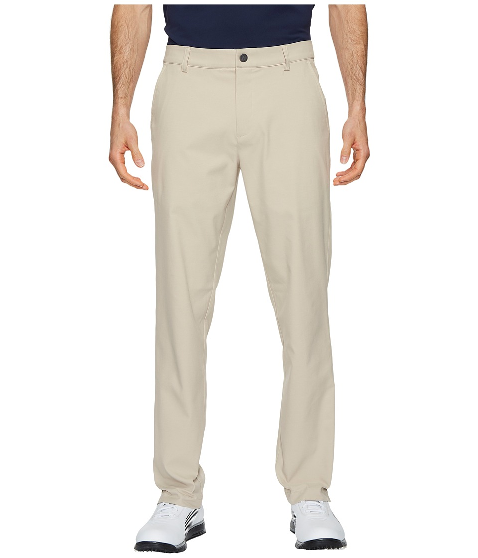 PUMA Golf - Stretch Pounce Pants (White Pepper) Mens Casual Pants