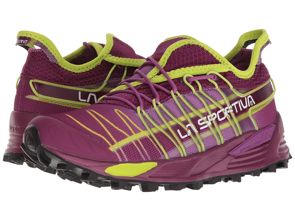 La Sportiva - Mutant (Plum/Apple Green) Womens Shoes