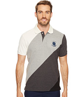 U.S. POLO ASSN. - Slim Fit Striped Short Sleeve Pique Polo Shirt