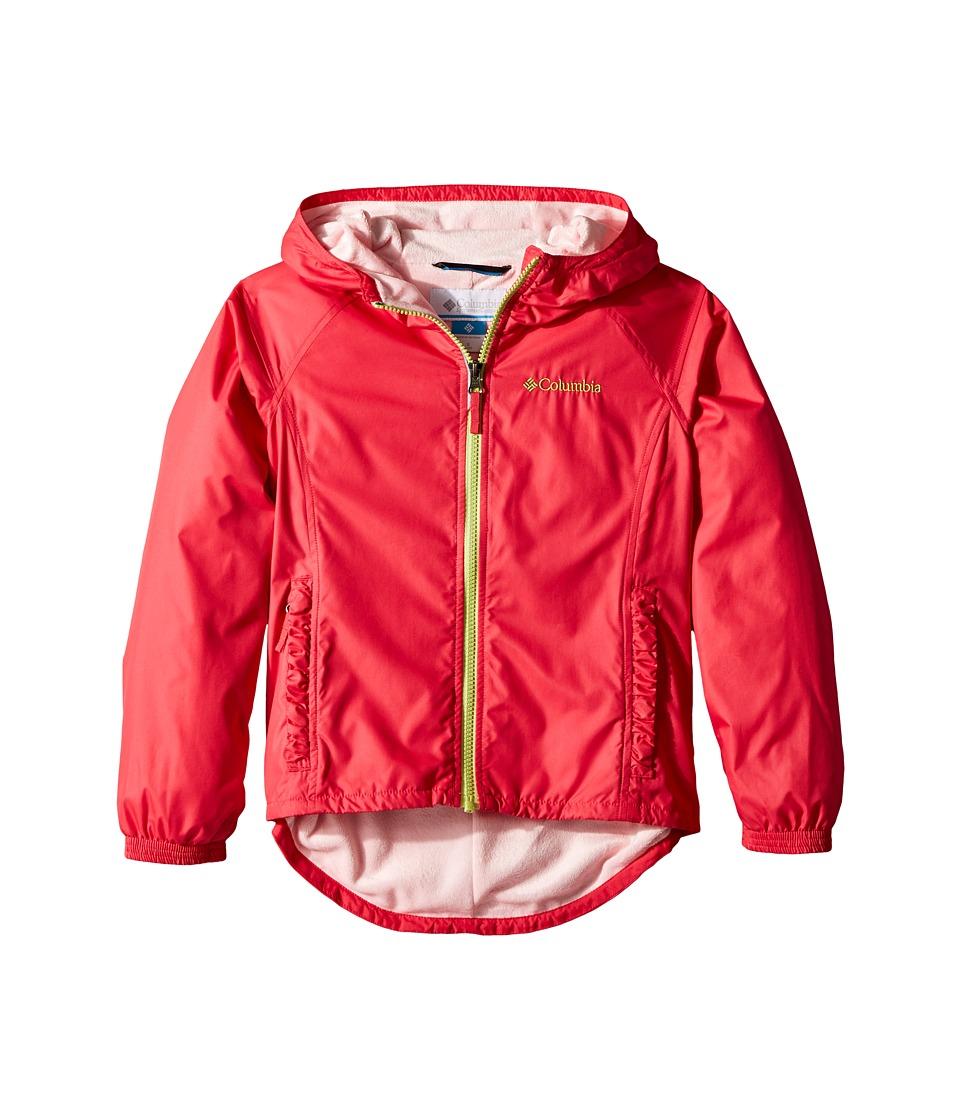 Columbia Kids Ethan Pondtm Jacket (Little Kids/Big Kids) (Punch Pink/Cherry Blossom) Girl