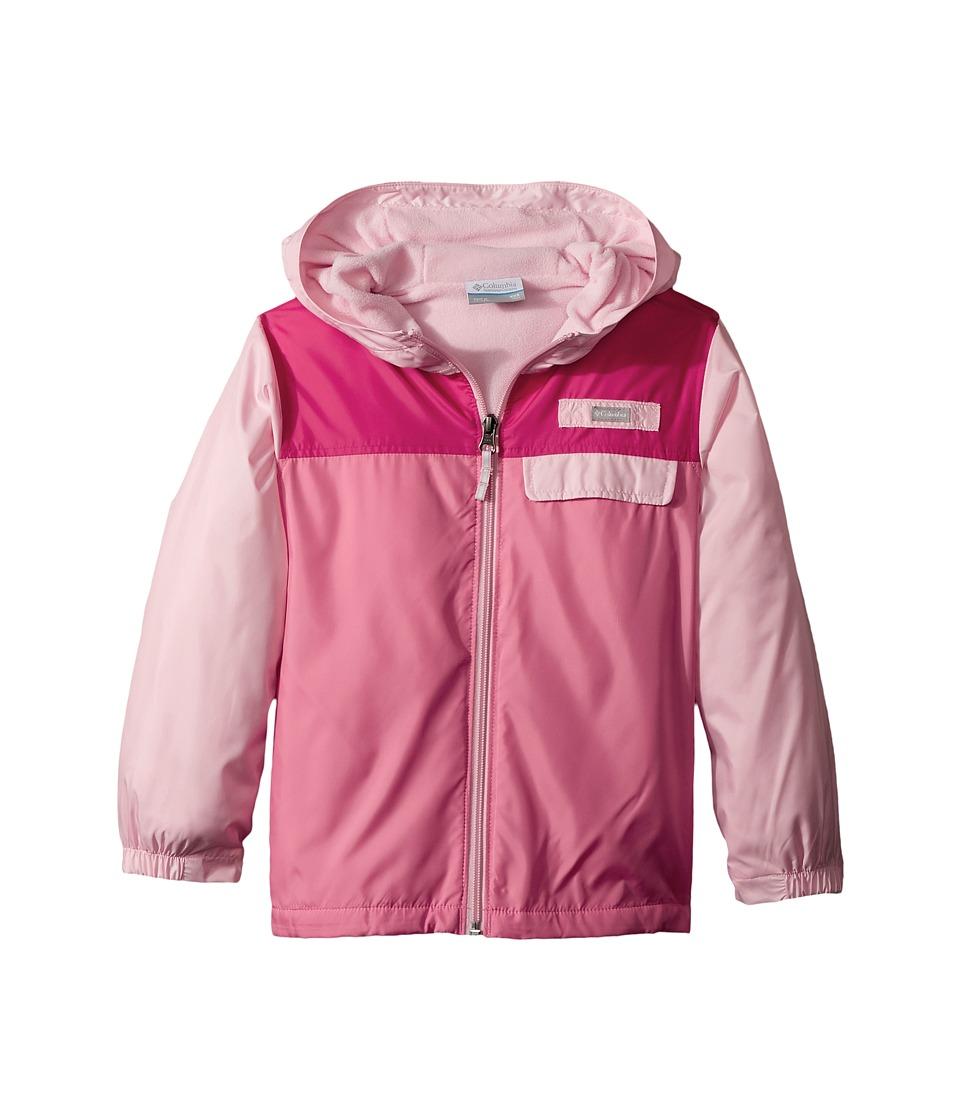 Columbia Kids Mountain Side Lined Windbreaker (Little Kids/Big Kids) (Cherry Blossom/Lollipop/Punch Pink) Girl