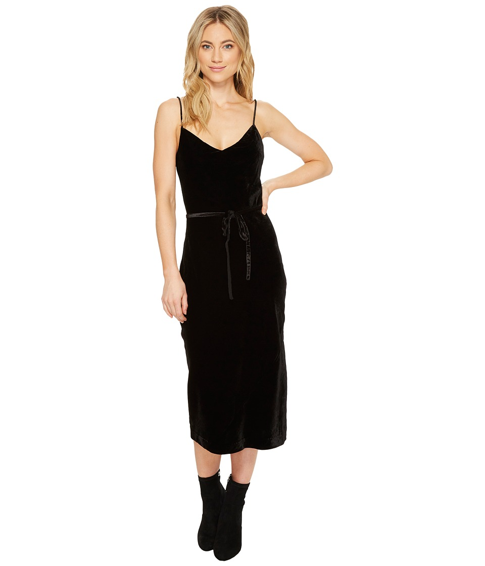 Paige Tressa Slip Dress (Black) Women