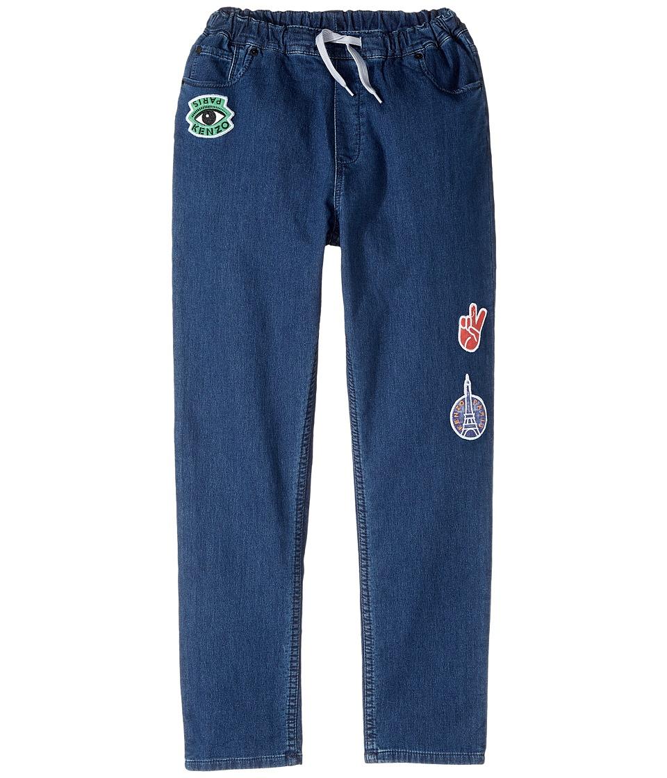 Kenzo Kids - Denim Emojis Pants