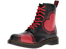 Dr. Martens Kid's Collection Delaney HRT 8-Eye Boot (Big Kid)