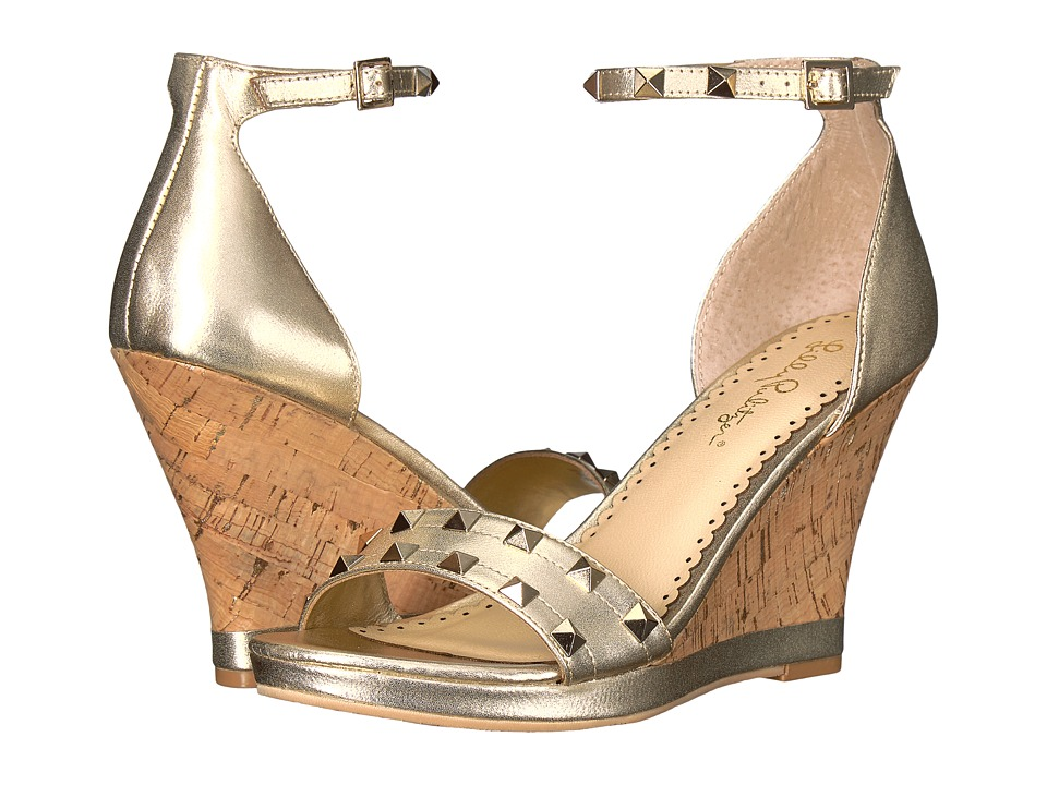 Lilly Pulitzer Sydney Wedge (Gold Metallic) Wedges