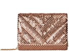 Jessica McClintock Katie Quilted Mesh Shoulder Bag Clutch