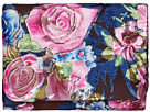 Jessica McClintock Katie Velvet Floral Shoulder Bag Clutch