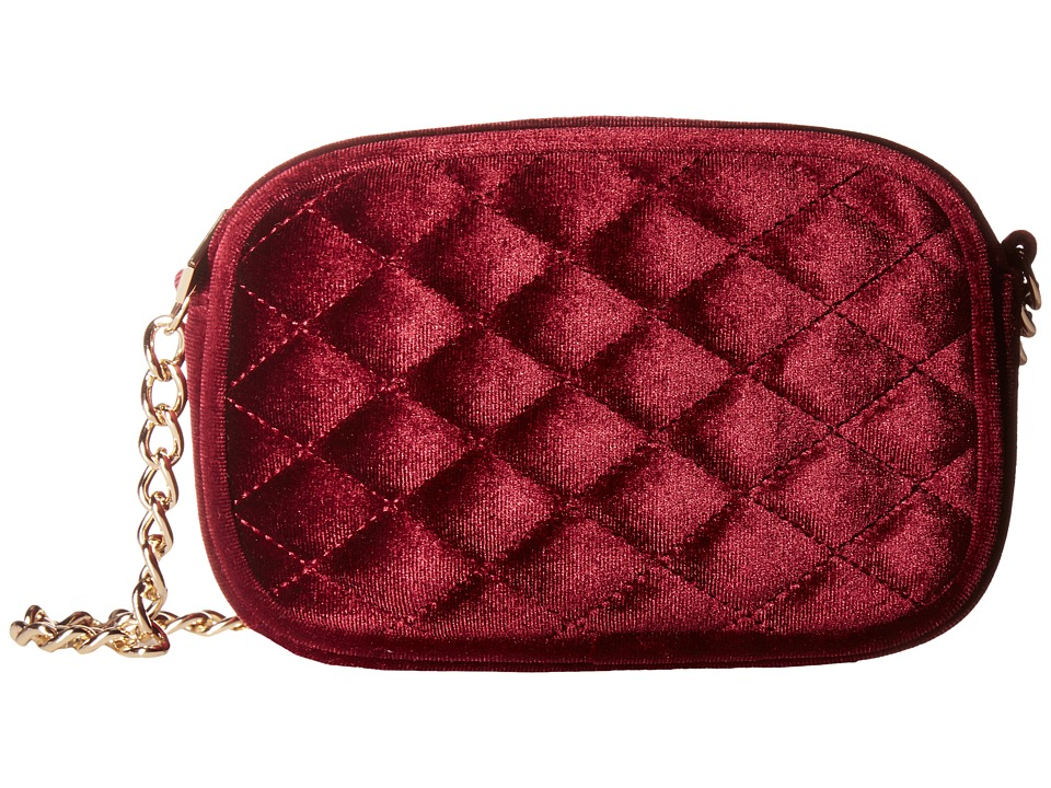 Jessica McClintock - Audrey Quilted Velvet Shoulder Bag