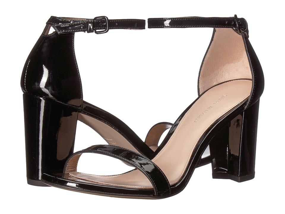 Stuart Weitzman Nearlynude (Black Patent) Women's Shoes