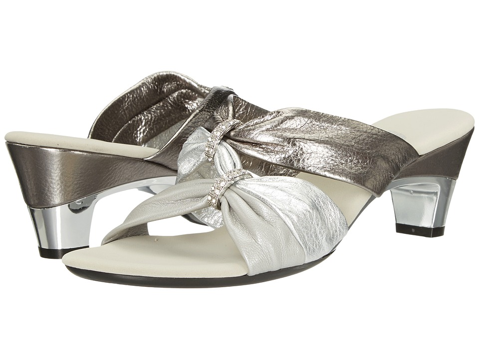 Onex Kylee (Pewter Multi) Women's Dress Sandals