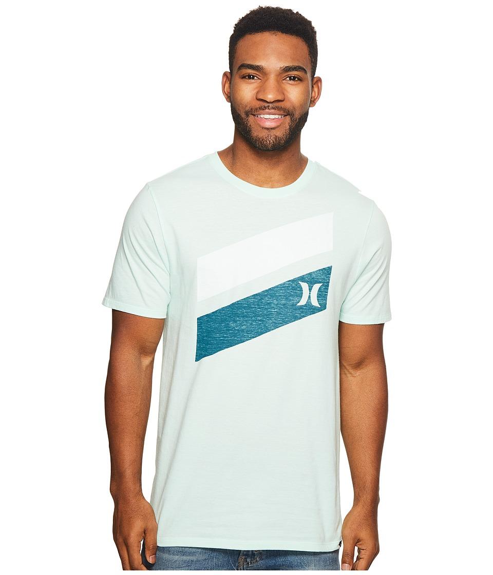 Hurley Icon Slash Push Through T-Shirt (Mint Foam 1) Men