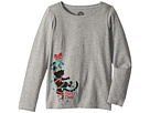 Life is Good Kids Party Time Cat Long Sleeve Crusher Tee (Little Kids/Big Kids)