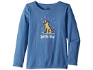 Life is Good Kids Shine ON Rocket Long Sleeve Crusher Tee (Little Kids/Big Kids)