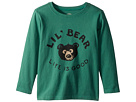 Life is Good Kids Lil Bear Long Sleeve Crusher Tee (Toddler)