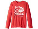 Life is Good Kids Don't Stop Believin' Santa Long Sleeve Crusher Tee (Little Kids/Big Kids)