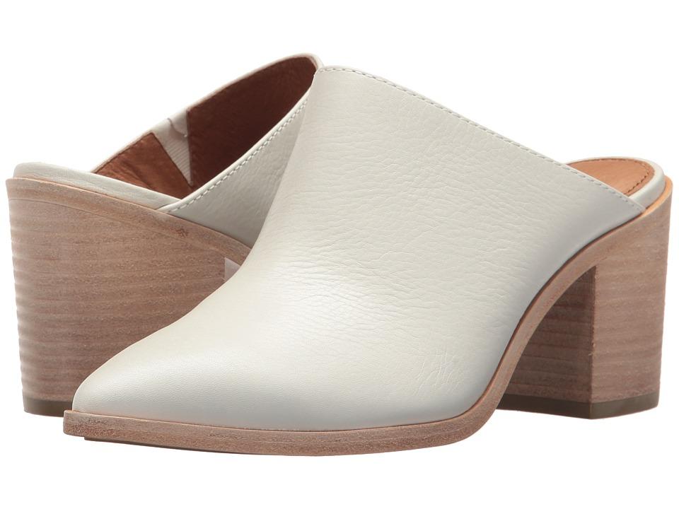 Frye - Flynn Mule (White Soft Full Grain) Womens Clog/Mule Shoes