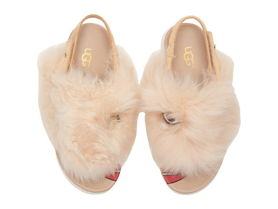 UGG Kids - Punki (Toddler/Little Kid/Big Kid) (Natural/Soft Ochre) Girls Shoes