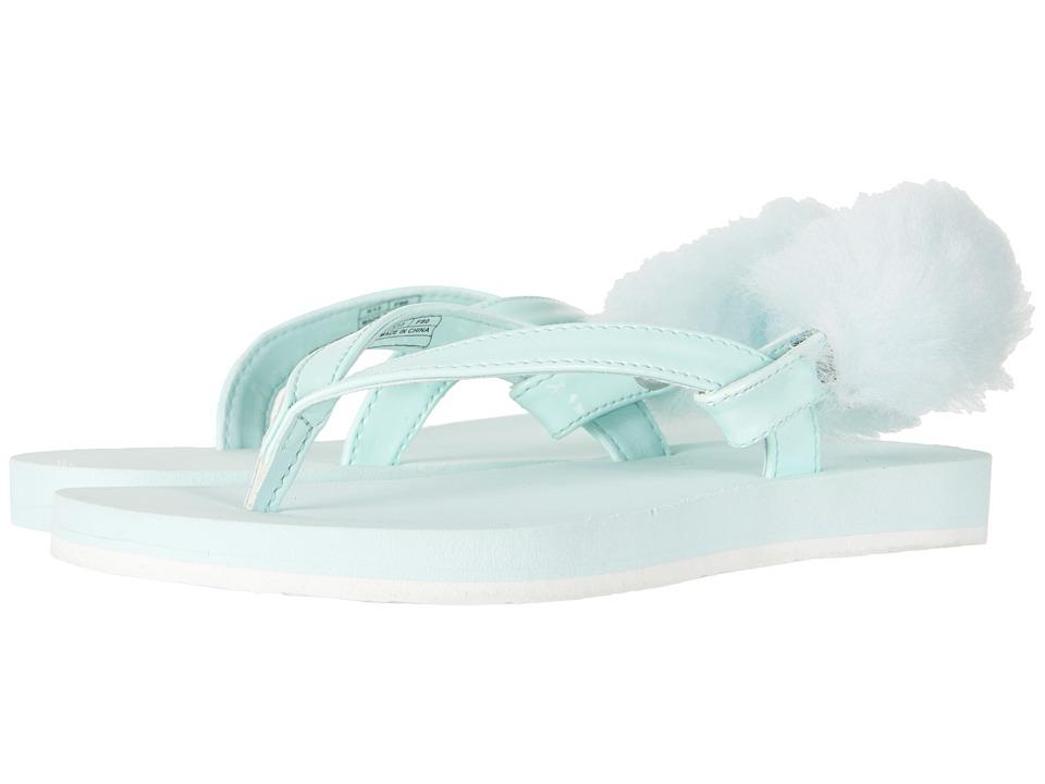UGG Kids LaaLaa (Little Kid/Big Kid) (Aqua) Girls Shoes