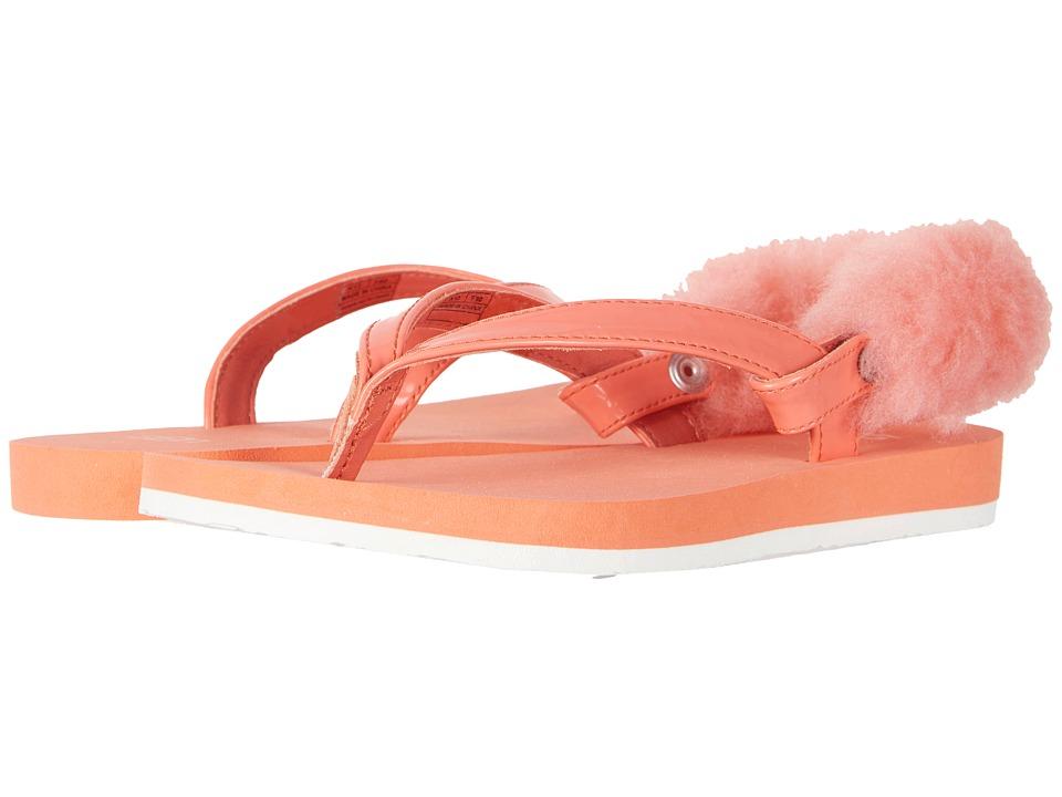 UGG Kids LaaLaa (Little Kid/Big Kid) (Vibrant Coral) Girls Shoes