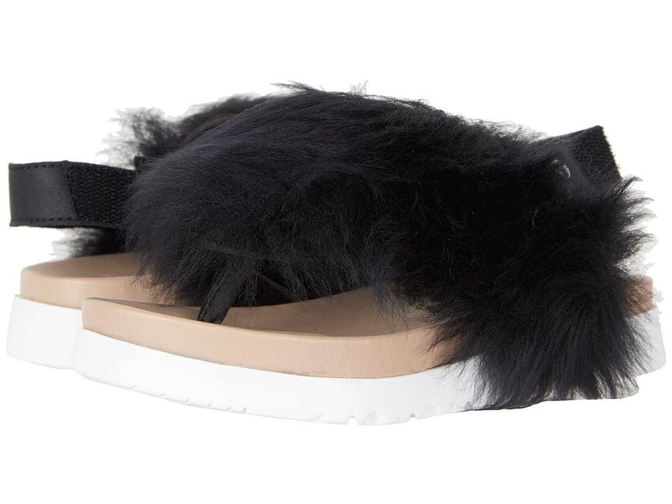 UGG Kids Holly (Toddler/Little Kid/Big Kid) (Black) Girls Shoes