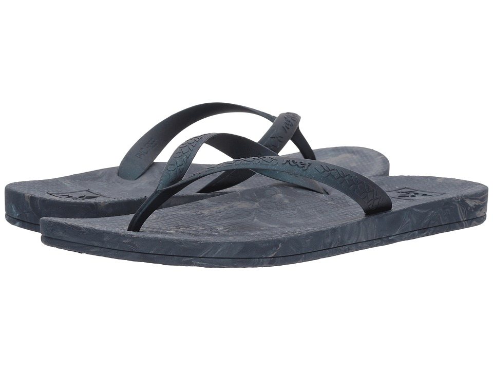 Reef - Escape Lux + Swirl (Navy Swirl) Women's Sandals