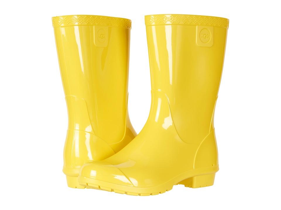 UGG Kids Raana (Little Kid/Big Kid) (Lemon Yellow) Girls Shoes