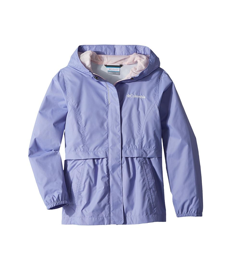 Columbia Kids Pardon My Trench Rain Jacket (Little Kids/Big Kids) (Fiarytale/Whitened Pink) Girl