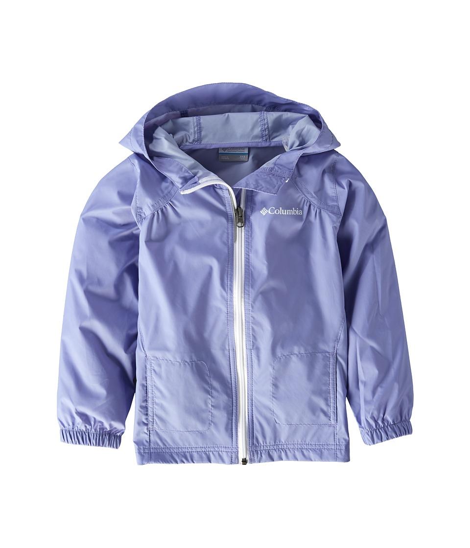 Columbia Kids - Switchbacktm Rain Jacket (Little Kids/Big Kids) (Fairytale/White) Girls Jacket