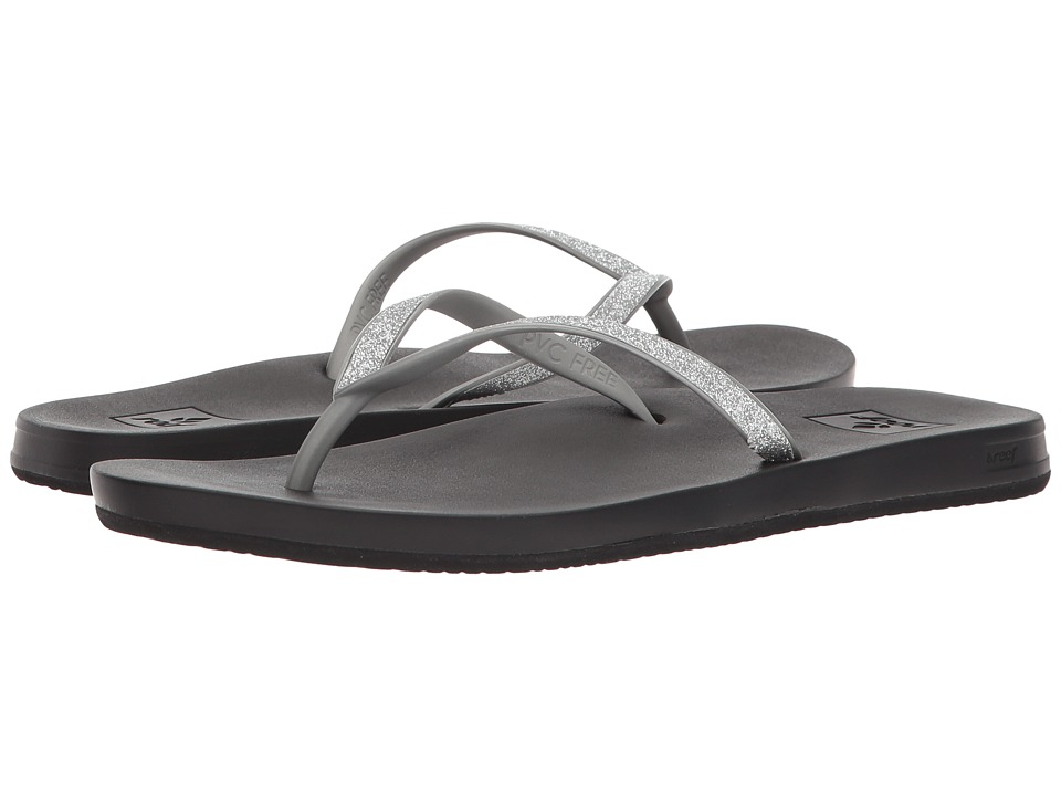 Reef - Cushion Bounce Stargazer (Silver) Women's Sandals
