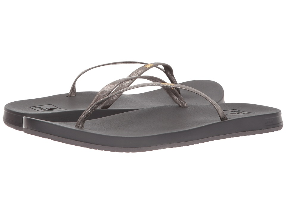 Reef - Cushion Bounce Slim (Pewter) Women's Sandals