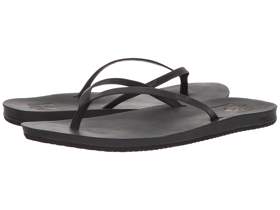 Reef - Cushion Bounce Slim LE (Black) Women's Sandals