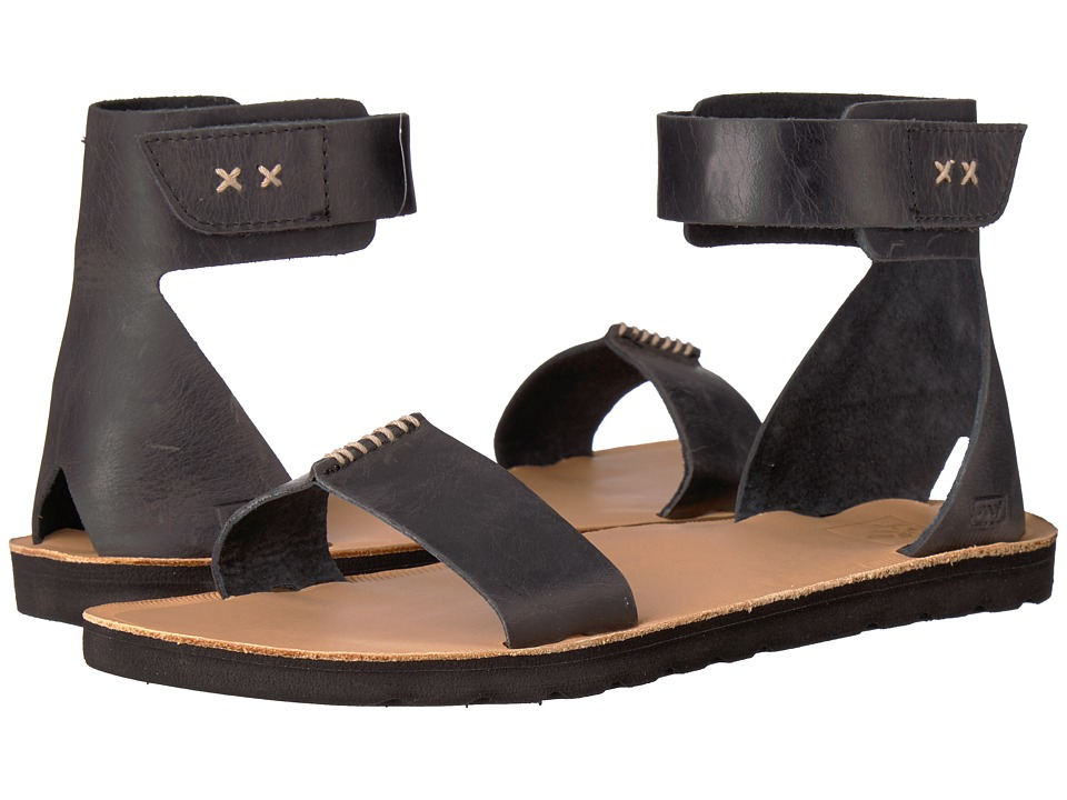 Reef - Voyage Hi (Black) Women's Sandals