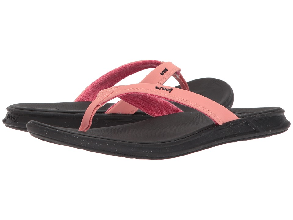 Reef Reef Rover Catch Pop (Bright Coral) Sandals