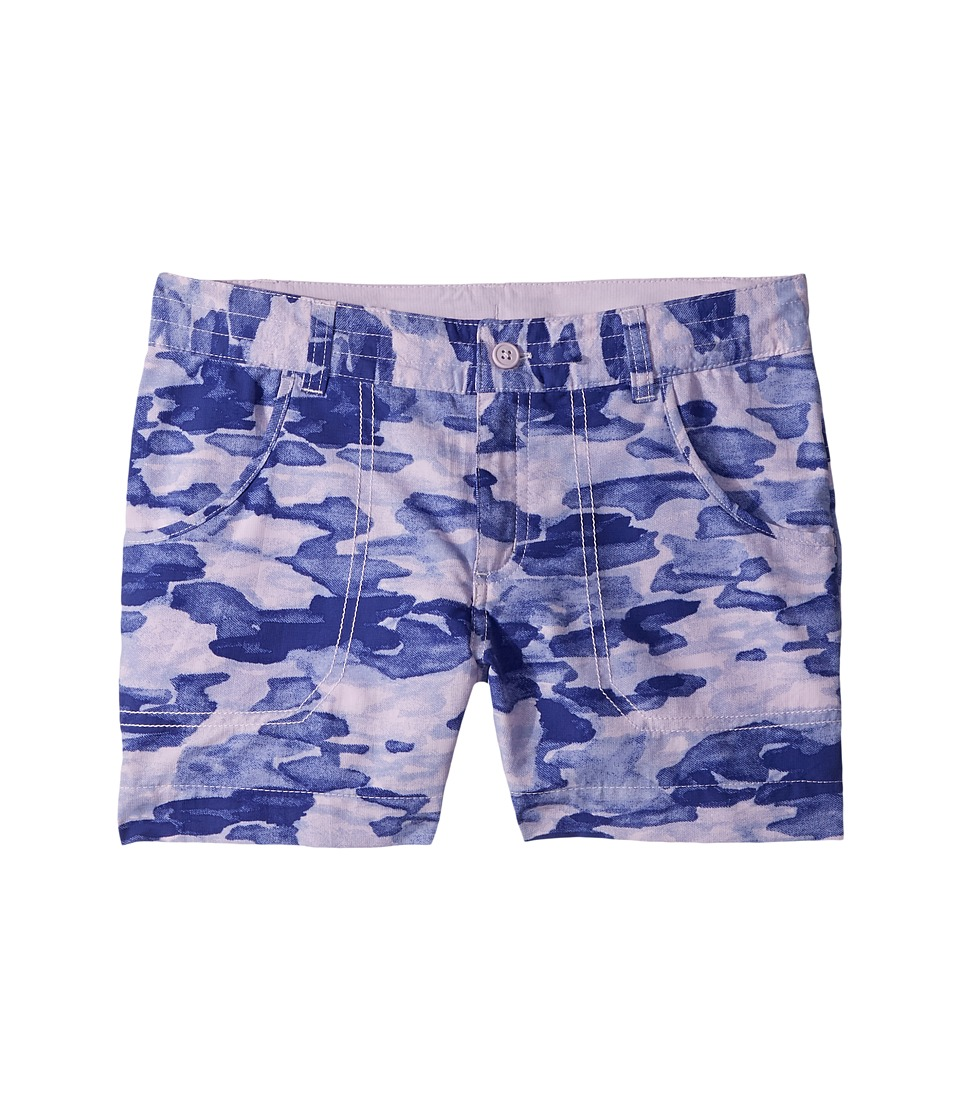 Columbia Kids - Silver Ridge Printed Shorts (Little Kids/Big Kids) (Phantom Purple Camo Print) Girls Shorts