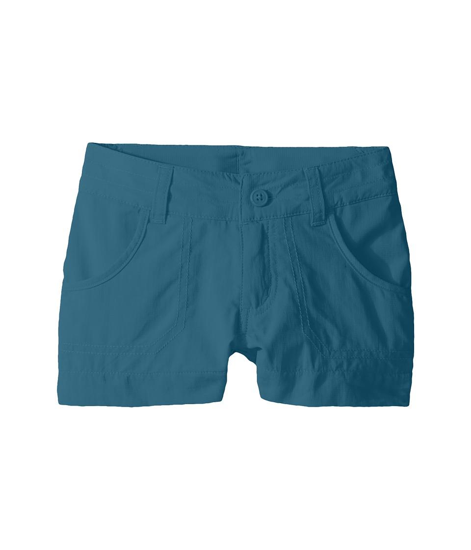 Columbia Kids - Silver Ridgetm III Short (Little Kids/Big Kids) (Aegean Blue) Girls Shorts