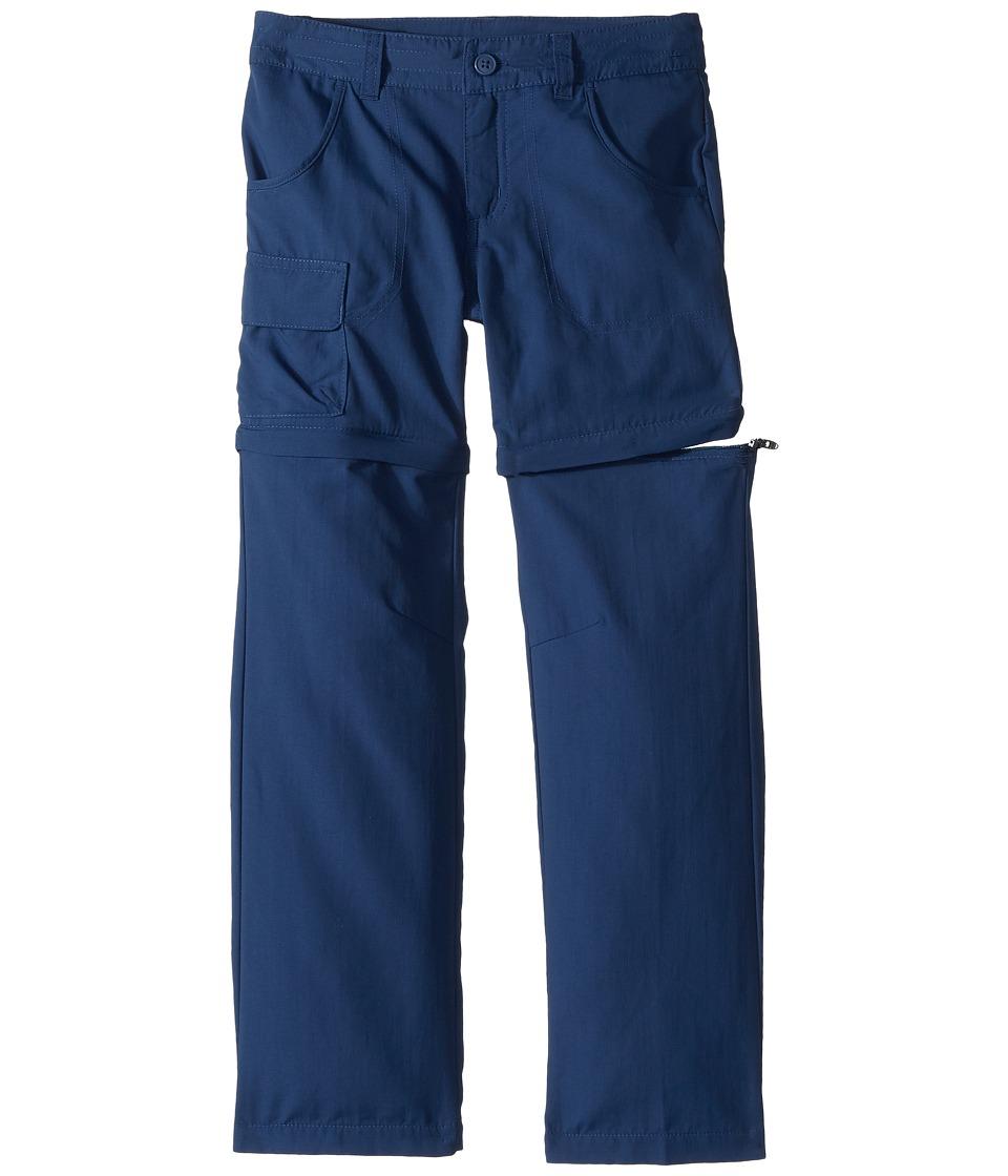 Columbia Kids - Silver Ridgetm III Convertible Pant (Little Kids/Big Kids) (Carbon) Girls Casual Pants